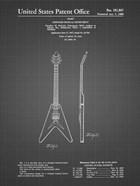 Stringed Musical Instrument Patent - Black Grid