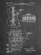 Electric Guitar Patent - Chalkboard