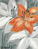 Tiger Lily in Orange