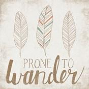 Prone to Wander Beige