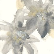 Gray and Silver Flowers II