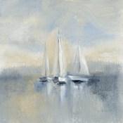 Morning Sail I Blue