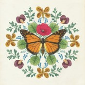 Butterfly Mandala I
