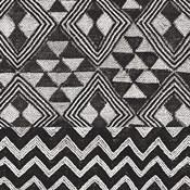 Kuba Cloth Mat II BW