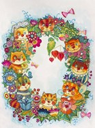 Wreath Cats 2