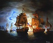 Bonhomme Richard And Serapis Battle