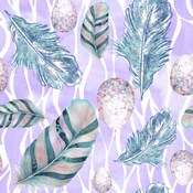 Feather & Egg Pattern II