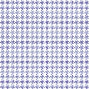 Purple Watercolor Houndstooth