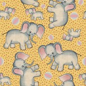 Cute Baby Elephant Pattern