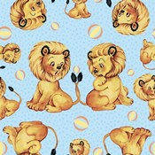 Cute Baby Lion Pattern