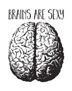 Brains are Sexy black