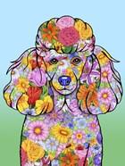 Flowers Poodle