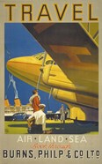 Art Deco Airplane Travel