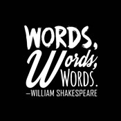 Words Words Words Shakespeare White