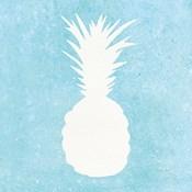 Tropical Fun Pineapple Silhouette I