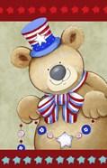Stars And Stripes Bear