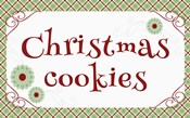 Christmas Cookies Banner