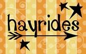 Hayride Banner