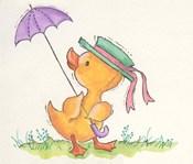 Duck With Umbrella