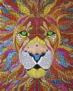 Lion Ablaze