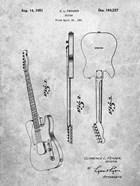 Fender Guitar Patent