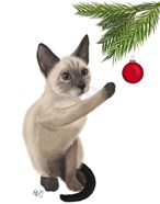 Siamese Cat and Bauble