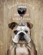 Dog Au Vin, English Bulldog