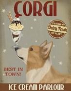 Corgi, Tan, Ice Cream