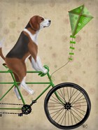 Beagle on Bicycle