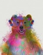 Rainbow Splash Bear