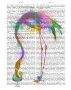Rainbow Splash Flamingo 3