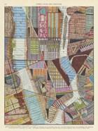 Modern Map of New York II