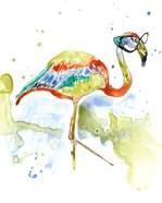 Smarty-Pants Flamingo