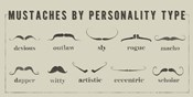 Mustaches Personalities