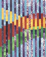 Quilted Monoprints I