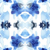 Blue Kaleidoscope I