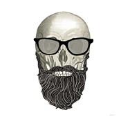 Hipster Skull I