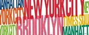 New York City Life Words