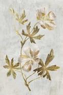 Botanical Gold on White IV