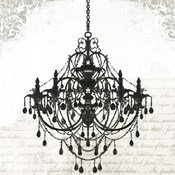 Black Chandelier II