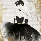 Lady in Black I