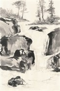 Sumi Waterfall II