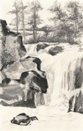 Sumi Waterfall I