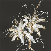 Gilded Poinsettias