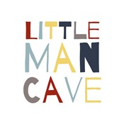 Little Man Cave Primary Color Palette