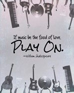 If Music Be The Food Of Love Shakespeare Musical Instruments