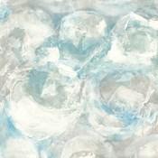 Pale Blue Circles III