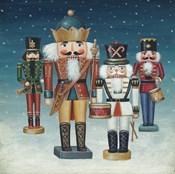 King Nutcrackers Snow