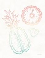 Sunset Palms Fruit II