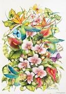 Orchid Splendor with Birds
